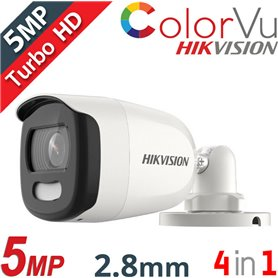 DS-2CE12HFT-F28 Full Time Color ColorVu 2.8mm 5MP