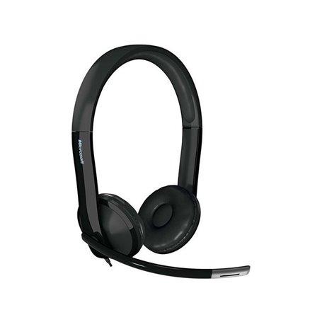 Headset Microsoft Lifechat LX-6000 (7XF-00001) - USB - Black