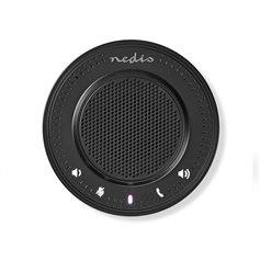 Ηχείο τηλεδιάσκεψης Nedis CSPR10010BK με ενσωματωμένο μικρόφωνο και σύνδεση USB - 2.5W