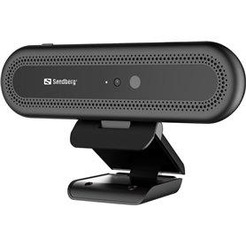 Webcam Sandberg Face Recognition 133-99 - Ανάλυση Full HD - USB