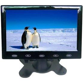 ML-707H Έγχρωμο Monitor Για PC & CCTV 7'' Με Εισόδους AV, VGA, HDMI Και Τηλεχειριστήριο